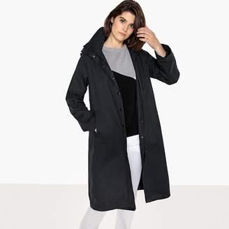 La Redoute Collections Long Hooded Waterproof Jacket