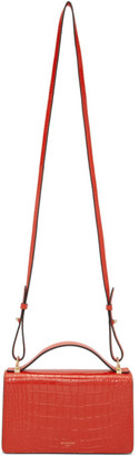 Givenchy Red GV3 Strap Wallet Bag