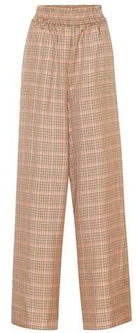 Golden Goose Plaid wide-leg pants