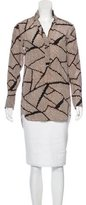 By Malene Birger Printed Silk Tunic