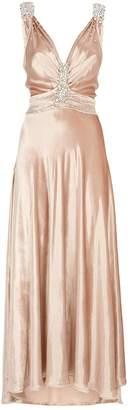 Paco Rabanne Embellished Velvet Dress