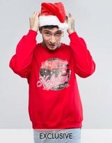 Reclaimed Vintage X Coca Cola Holidays Sweatshirt