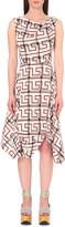 Anglomania Aztec-print stretch-cotton dress