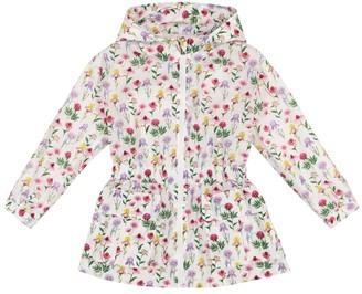 MonnaLisa Floral raincoat