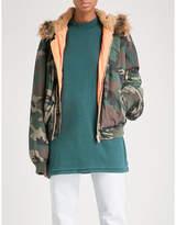 Yeezy Season 5 camo-print shell bomber jacket