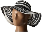 Michael Stars Swirl Striped Floppy Hat