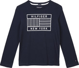 Tommy Hilfiger Flag logo cotton t-shirt 4-16 years