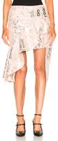 Marques Almeida Marques ' Almeida Short Wrap Brocade Skirt in Pink.