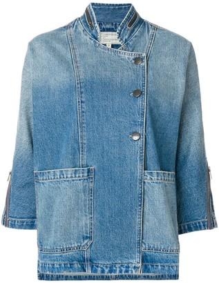 Current/Elliott cropped sleeve jacket