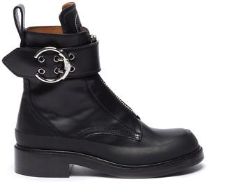 Chloé 'Roy' buckle platform leather boots