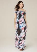 Bebe Brier Print Maxi Dress