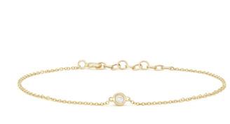 Anne Sisteron Diamond Solitaire Bracelet