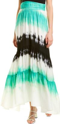 A.L.C. Hopkins Silk Maxi Skirt