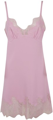 Ermanno Scervino Sleeveless Laced Detail Dress