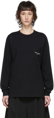 Comme des Garcons Black Logo Long Sleeve T-Shirt