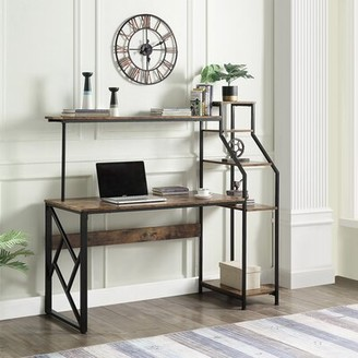 17 Stories Conover Desk with Hutch