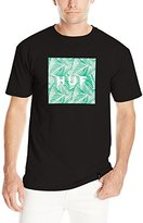 HUF Men's Palm Leaf Box Logo T-Shirt