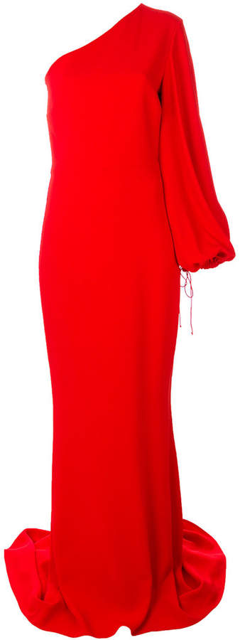 Stella McCartney one-shoulder gown