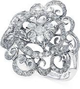 Effy Diamond Swirl Ring in 14k White Gold (3/4 ct. t.w.)