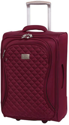 """it Girl Timeless 22"""" Lightweight Expandable Carry On Spinner Suitcase"""