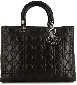 Christian Dior pre-owned large Lady handbag
