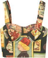 Simon Miller printed bodice top - women - Cotton - 0