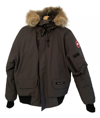 Canada Goose Chilliwack Grey Synthetic Jackets
