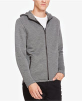 Kenneth Cole New York Men's Heathered Zip-Front Hoodie