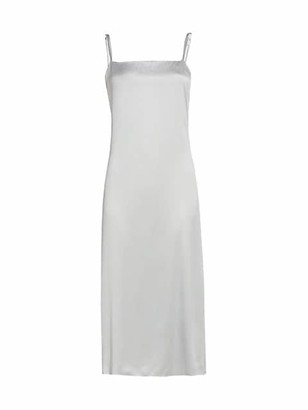 Brunello Cucinelli Stretch-Silk Cami Midi Dress