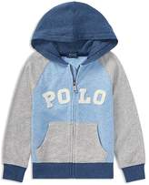 Ralph Lauren Boys' Cotton Zip-Up Hoodie - Little Kid