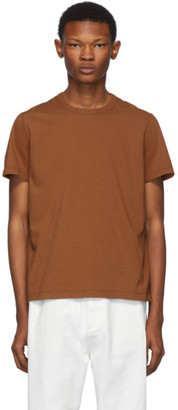 Rick Owens Brown Short Level T-Shirt