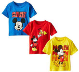 Freeze Mickey Mouse Blue Tee Set - Toddler & Boys