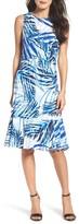Eliza J Women's Print Midi Dress