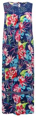 M&Co Plus floral maxi dress