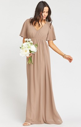 Show Me Your Mumu Emily Empire Maxi Dress