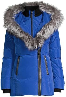 Mackage Adali Fox Fur-Trim Puffer Coat