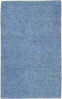 Surya AROS12 Aros Plush Hand Woven 100% New Zealand Felted Wool Blue Rug (2-Feet x 3-Feet )