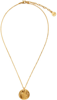 Ludovic de Saint Sernin Gold Top Medallion Necklace