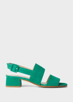 Hobbs Claudia Suede Block Heel Sandals