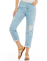Big Star Helix Slouchy High Waisted Distressed Boyfriend Jeans