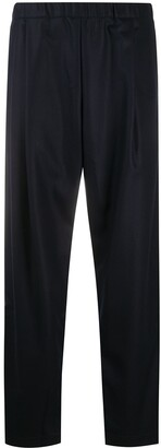 Casey Casey High-Waisted Knitted Trousers