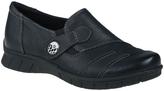Earthies Black Leather Naya Loafer