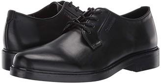 Calvin Klein Fultz (Black Crust Leather) Men's Shoes