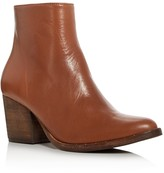 Freda Salvador Real Mid Heel Booties