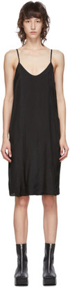 Raquel Allegra Black Slip Dress
