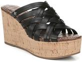 Sam Edelman Devon Leather Wedge Sandal