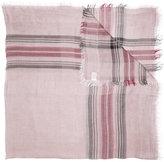Faliero Sarti plaid print scarf - women - Modal - One Size