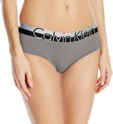 Calvin Klein Women's Magnetic Force Heathered Hipster Panty, Grey Heather