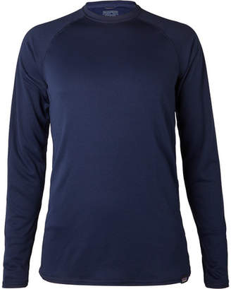 Patagonia Capilene Slim-Fit Fleece-Back Jersey T-Shirt