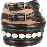 3.1 Phillip Lim Embellished Leather Belt